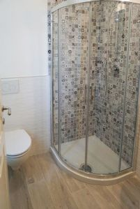 Villa Clarinetto : Bathroom with shower
