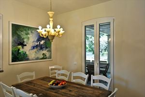 Villa Salvia  : Dining room