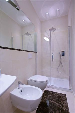 Villa Marina  : Bathroom with shower
